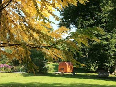 Cabane im Herbst